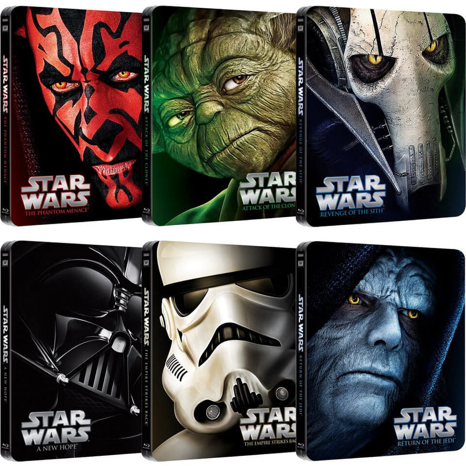 Star Wars Complete Collection – Limited Edition Steelbooks ...