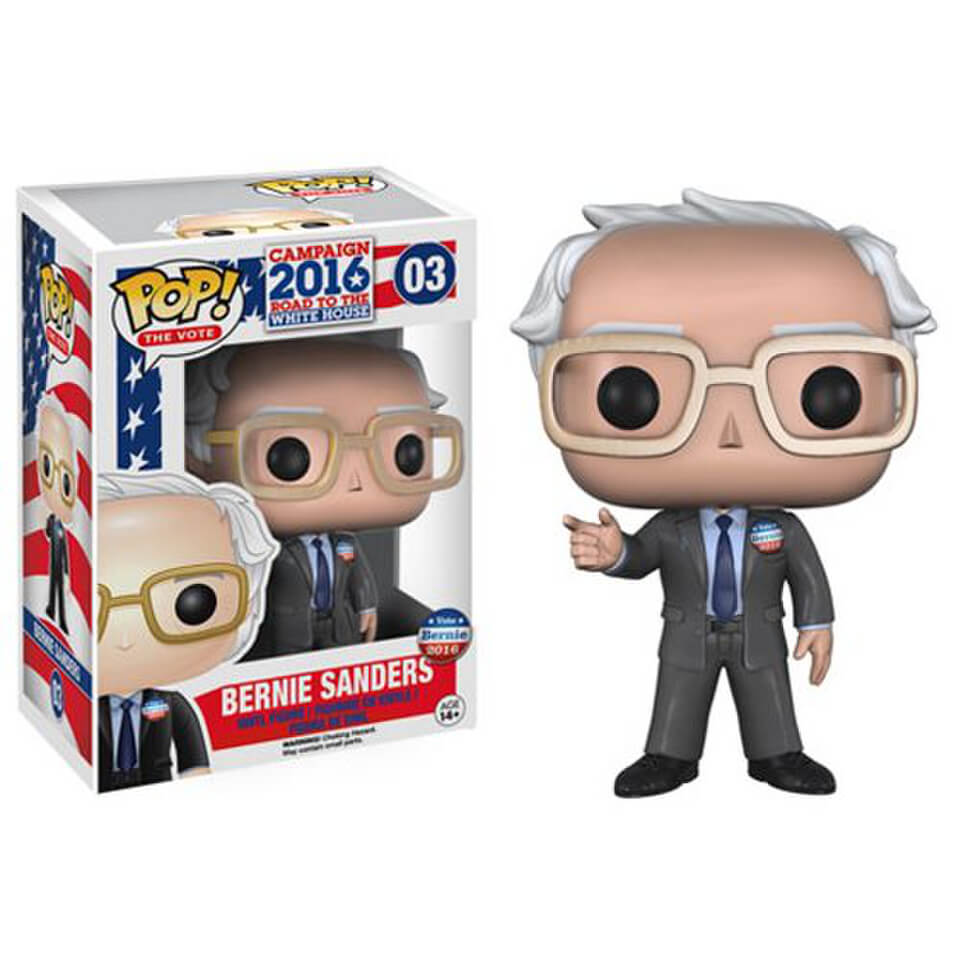 Bernie Sanders Pop! Vinyl Figure Merchandise | Zavvi.com