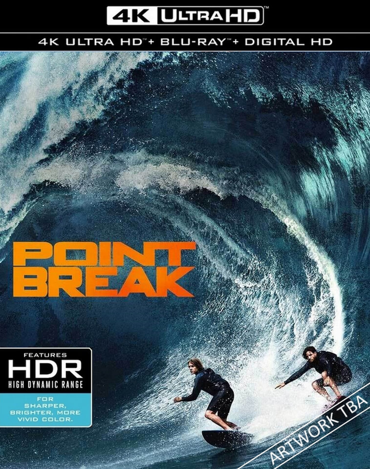 point break 4k ultra hd blu ray. Black Bedroom Furniture Sets. Home Design Ideas