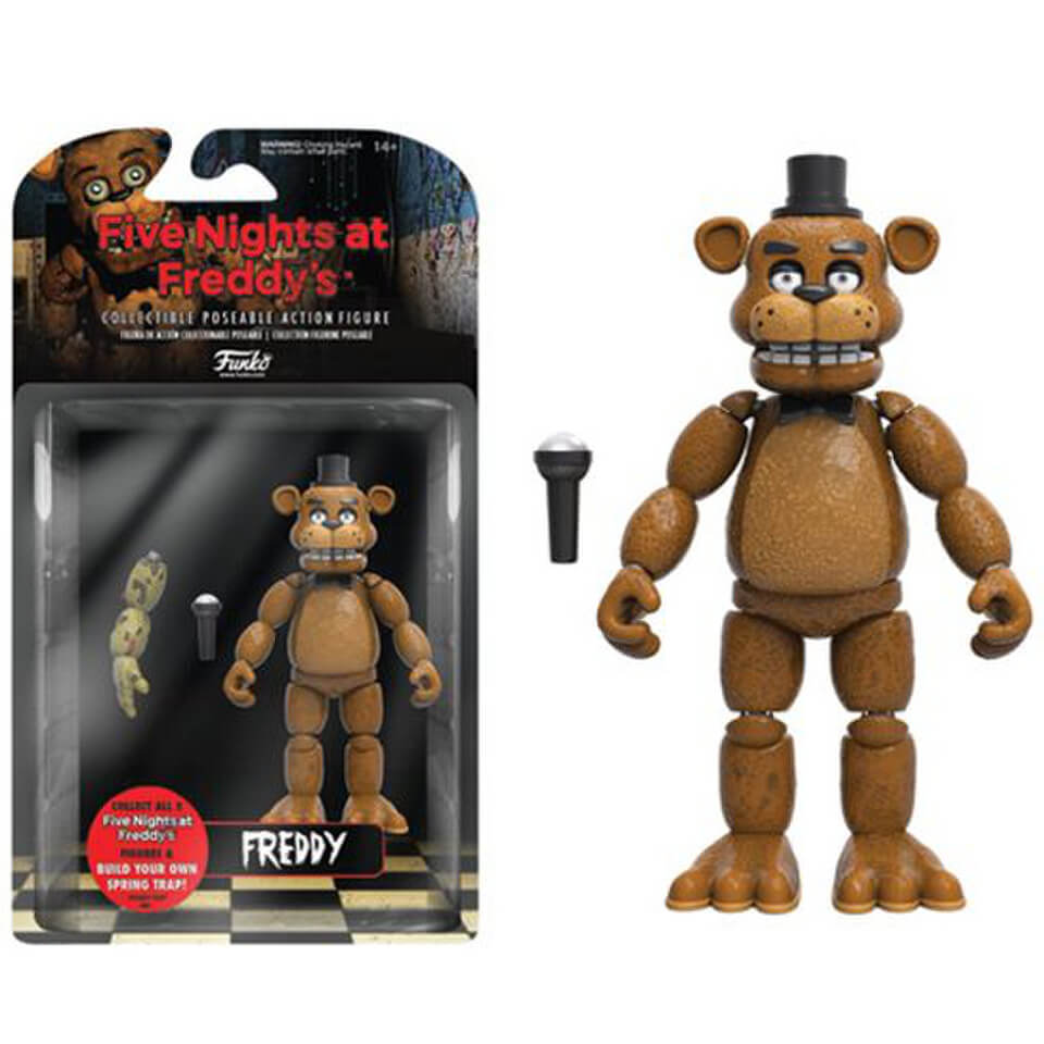 five nights at freddy s freddy 5 inch action figure