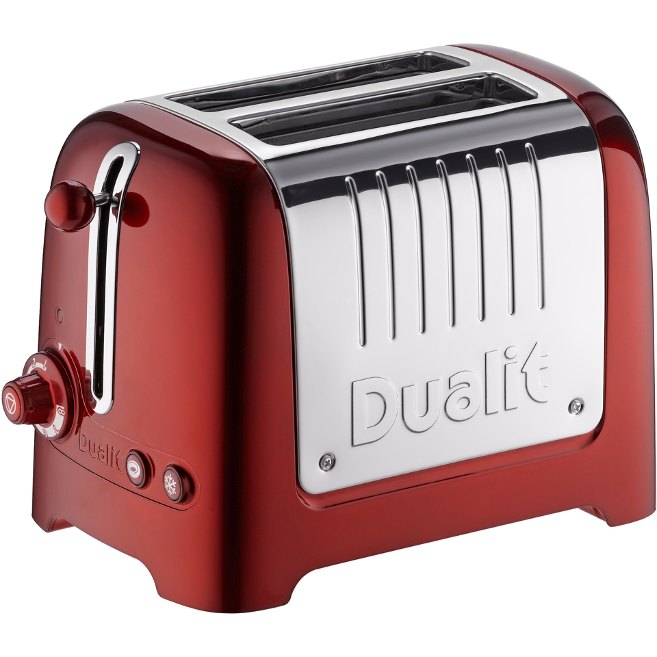 Dualit 26281 Lite 2 Slot Toaster Metallic Red Iwoot