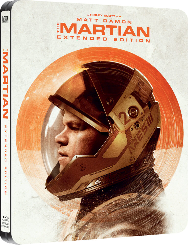 The Martian Extended Edition Zavvi Exclusive Limited