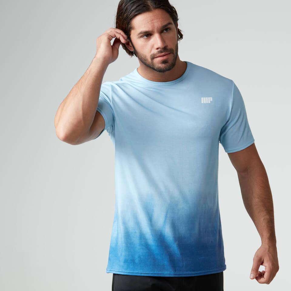 Myprotein men 39 s dip dye t shirt royal blue ebay for Mens dip dye shirt