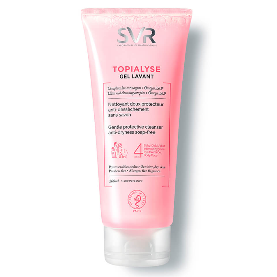 SVR Topialyse All-Over Gentle Wash-Off Cleanser -  200ml