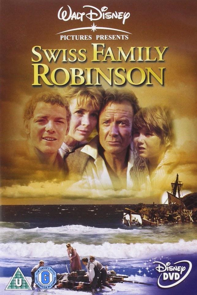 Swiss Family Robinson Dvd Zavvi