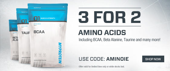 3 for 2 Amino Acids