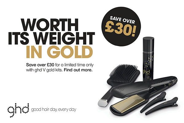 STYLE IT UP with ghd!