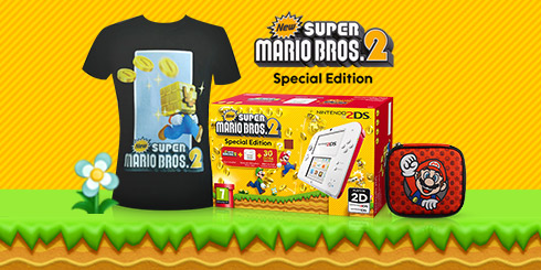 New Super Mario Bros 2 T-Shirt Bundle