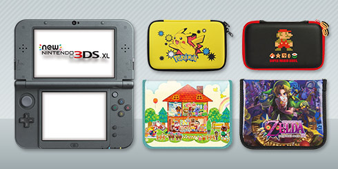 FREE Nintendo 3DS XL Case