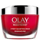 Olay Regenerist Fragrance Free Moisturiser Face Cream with Niacinamide and Peptides 50ml