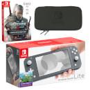 Nintendo Switch Lite (Grey) The Witcher 3: Wild Hunt Pack