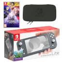 Nintendo Switch Lite (Grey) Fire Emblem: Three Houses Pack
