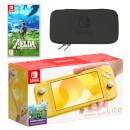 Nintendo Switch Lite (Yellow) The Legend of Zelda: Breath of the Wild Pack