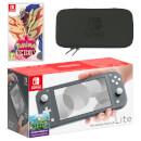 Nintendo Switch Lite (Grey) Pokémon Shield Pack