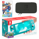 Nintendo Switch Lite (Turquoise) Pokémon Sword Pack