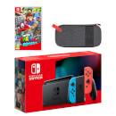Nintendo Switch (Neon Blue/Neon Red) Super Mario Odyssey Pack