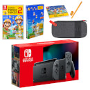 Nintendo Switch (Grey) Super Mario Maker 2 Pack
