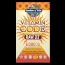 Vitamin Code Raw 純天然維生素D3 5000 IU - 60粒膠囊