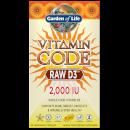 Витаминный комплекс Vitamin Code Raw D3 2000 Iu - 60 капсул