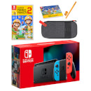 Nintendo Switch (Neon Blue/Neon Red) Super Mario Maker 2 Pack