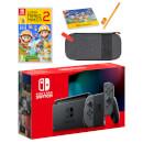 Nintendo Switch (Grey) Super Mario Maker 2 Pack