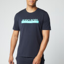 BOSS Men's Identity T-Shirt Rn - Open Blue