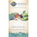mykind Organics Men's 40+ Multi - 60 Tablets