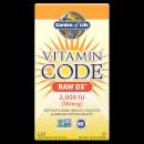 Vitamin Code Vitamine D3 2000 lu 120ct Capsules