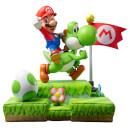 Mario and Yoshi Figurine - Definitive Edition