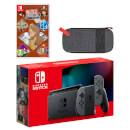 Nintendo Switch (Grey) LAYTON'S MYSTERY JOURNEY: Katrielle and the Millionaires' Conspiracy - Deluxe Edition Pack