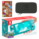 Nintendo Switch Lite (Turquoise) LAYTON'S MYSTERY JOURNEY: Katrielle and the Millionaires' Conspiracy - Deluxe Edition Pack