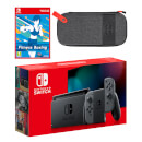Nintendo Switch (Grey) Fitness Boxing - Digital Download Pack