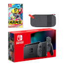 Nintendo Switch (Grey) ARMS Pack