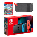 Nintendo Switch (Neon Blue/Red) Go Vacation - Digital Download Pack