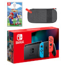 Nintendo Switch (Neon Blue/Red) Mario & Sonic at the Olympic Games Tokyo 2020 Pack