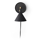 Menu Cast Sconce Wall Lamp - Black