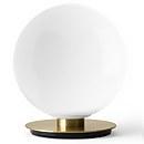 Menu Shiny Opal Table/Wall Lamp - Brushed Brass