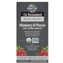 Brain Health Organic Memory/Focus - Young Adults - 60 Tablets
