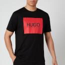 HUGO Men's Dolive U204 Logo T-Shirt - Black