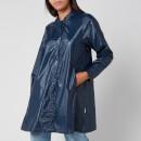 RAINS Women's Aline Jacket - Shiny Blue