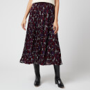 MICHAEL MICHAEL KORS Women's Zinnia Paisley Pleated Skirt - Multi