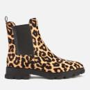 MICHAEL MICHAEL KORS Women's Ridley Haircalf Chelsea Boots - Natural