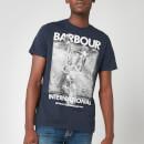 Barbour International Men's Archieve Comp T-Shirt - Navy