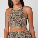Varley Women's Sherman Bra - Classic Leopard