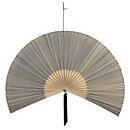 Bloomingville Bamboo Fan Wall Decoration - Black