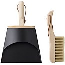 Bloomingville Cleaning Dustpan & Broom - Black