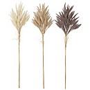 Bloomingville Faux Dried Flower - Set of 3 - Wheat