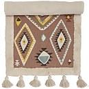 Bloomingville Textured Aztec Rug - Natural