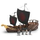 Game of Thrones Targaryan Ship Playset