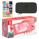 Nintendo Switch Lite (Coral) Super Mario 3D All-Stars Pack